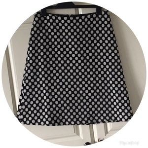 BODEN Polka Dot Lois Wool Skirt